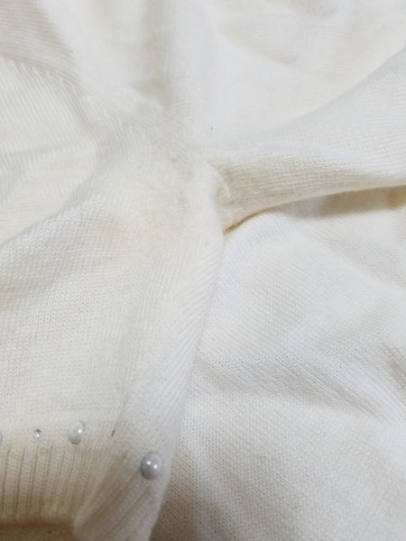 ANAYI(アナイ) 半袖セーター サイズ38 M レディース アイボリー 7