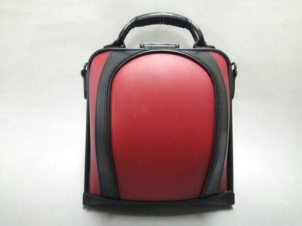 ARTPHERE(アートフィアー) ハンドバッグ レッド×黒 合皮×レザー