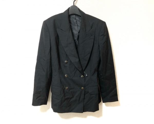 JUNIOR GAULTIER(ゴルチエ) ジャケット サイズ40 M レディース美品  黒 肩パッド