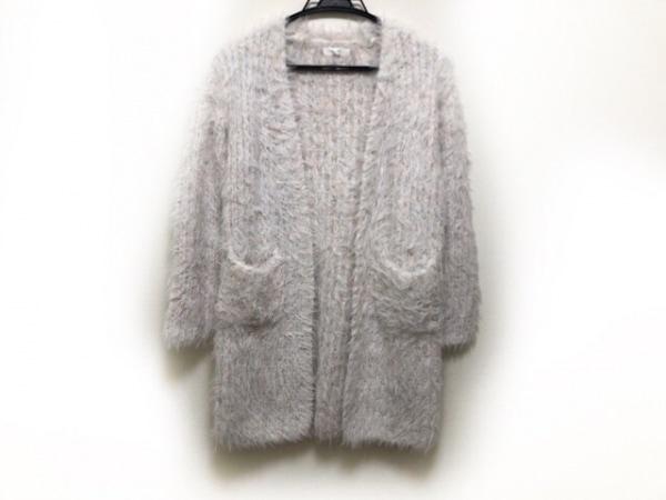Miia(ミーア) コート サイズF レディース新品同様  白×マルチ 冬物