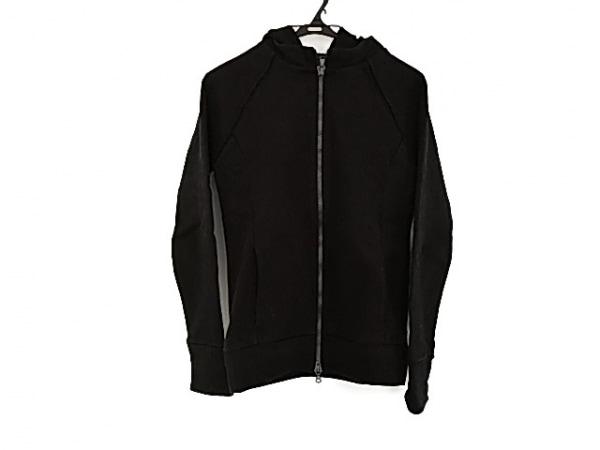 リップヴァンウィンクル パーカー サイズ3 L メンズ美品  黒 ジップアップ