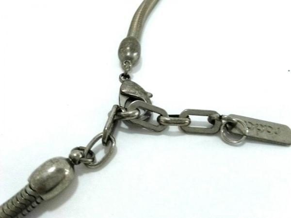 rada(ラダ) ネックレス美品  金属素材 シルバー×ゴールド×クリア ビジュー