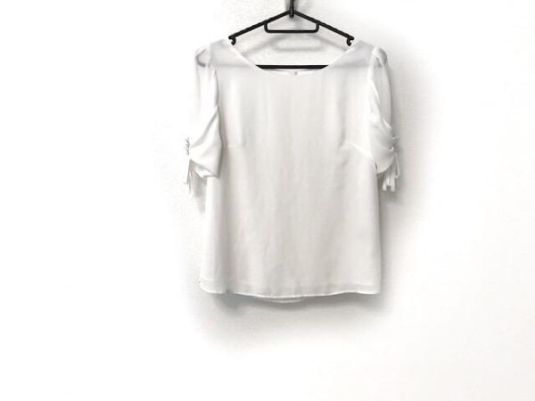 Rirandture(リランドチュール) 半袖カットソー サイズ2 M レディース美品  白 リボン
