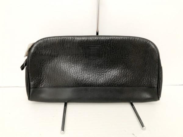 NINARICCI(ニナリッチ) セカンドバッグ美品  黒 レザー