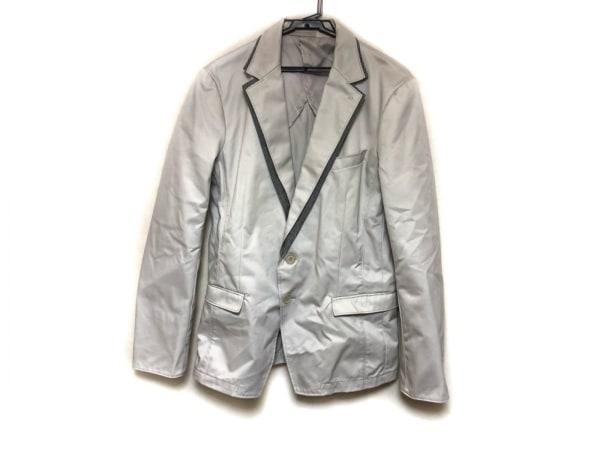 HIDEAWAYS NICOLE(ハイダウェイニコル) ジャケット サイズ48 XL メンズ ライトグレー