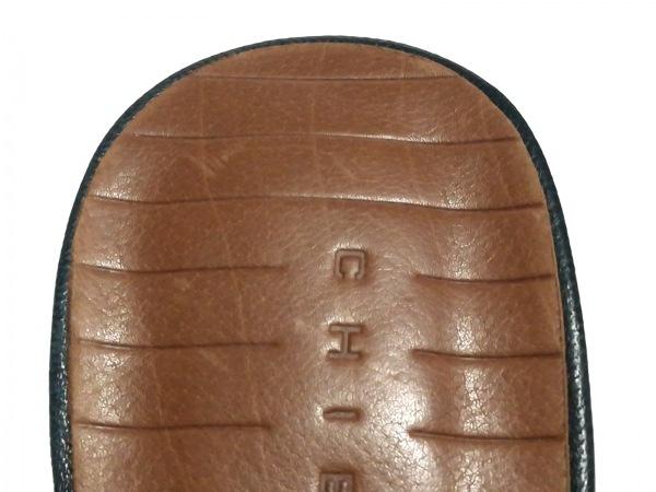CHIE MIHARA(チエミハラ) サンダル 38 レディース美品  ネイビー レザー