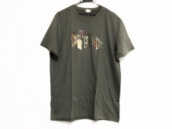 PaulSmith(ポールスミス) 半袖Tシャツ サイズM メンズ美品  カーキ 鍵