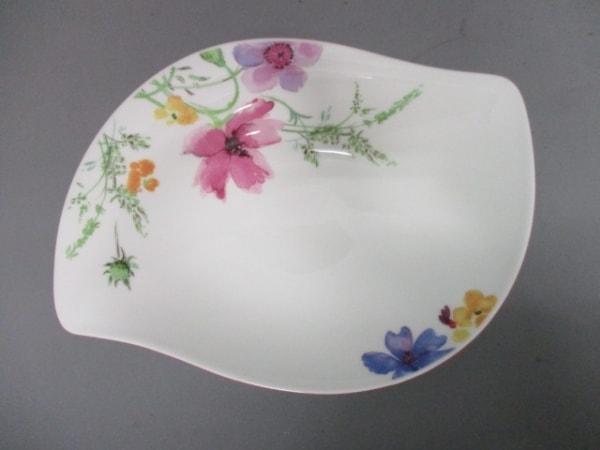 Villeroy&Boch(ビレロイ&ボッホ) プレート新品同様  白×ピンク×グリーン 花柄 陶器