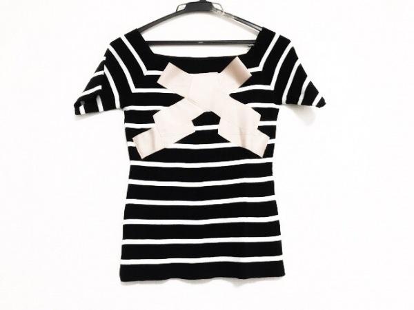 Annette(アネット) 半袖カットソー レディース美品  黒×白×ベージュ