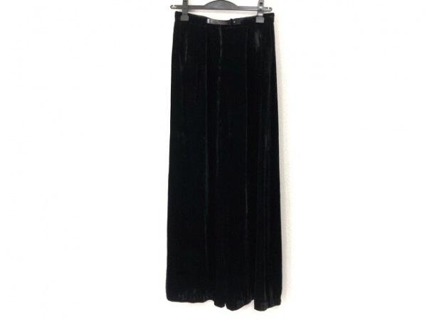 Acne(アクネ) パンツ サイズ34 S レディース 黒 ベロア