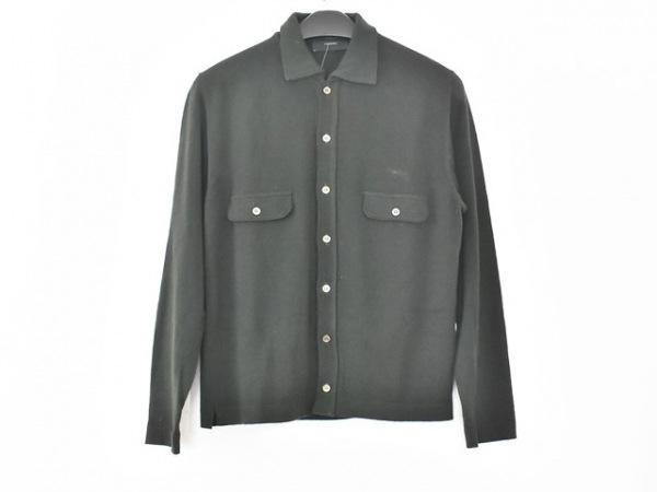 ZANONE(ザノーネ) 長袖シャツ サイズ46 XL メンズ ダークグリーン ニット