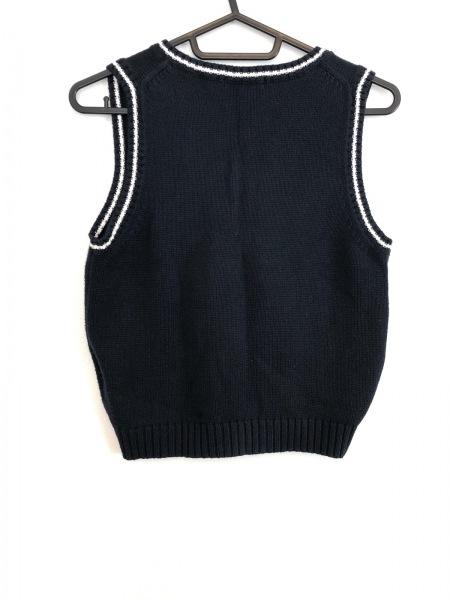 32750d6adcde1 ... Burberry LONDON(バーバリーロンドン) ベスト メンズ新品同様 ネイビー×白 子供服 ...