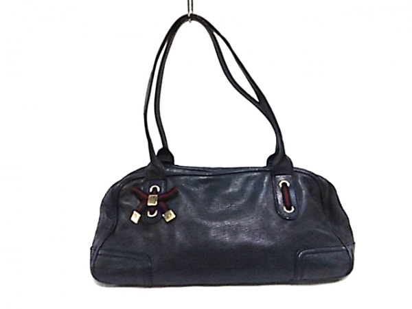 competitive price 74325 86361 GUCCI(グッチ) ショルダーバッグ プリンシー 161720 黒 リボン レザー