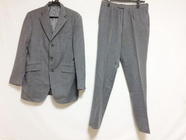 リチャードジェームス メンズスーツ サイズ38 M メンズ グレー×ライトブルー