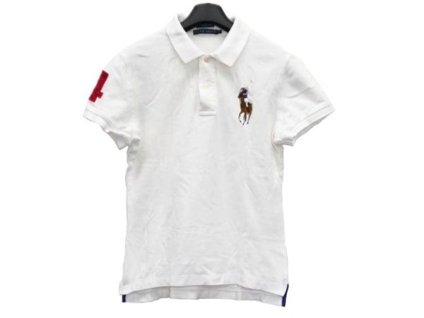 RalphLauren(ラルフローレン) 半袖ポロシャツ サイズL レディース美品  ビッグポニー