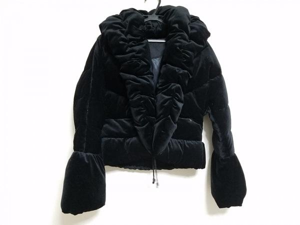 トゥービーシック ダウンジャケット サイズ40 M レディース 黒 冬物/ベロア