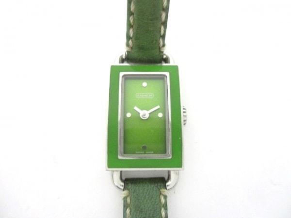 COACH(コーチ) 腕時計 268 レディース グリーン