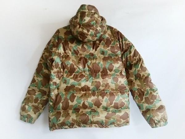 バル ダウンジャケット サイズM メンズ美品  ベージュ×ダークブラウン×マルチ 冬物
