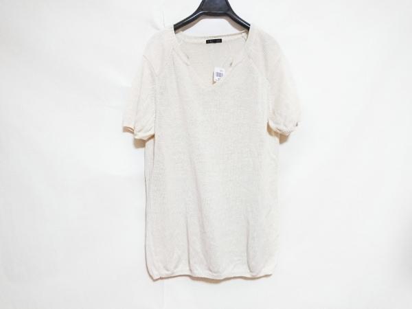 theory(セオリー) 半袖セーター メンズ美品  アイボリー