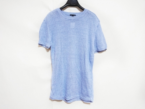 theory(セオリー) 半袖セーター メンズ ライトブルー