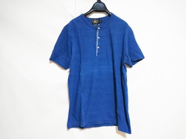 RRL RALPH LAUREN(ダブルアールエル ラルフローレン) 半袖カットソー メンズ ブルー