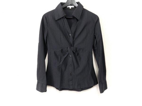 ナラカミーチェ 長袖カットソー サイズ1 S レディース美品  黒×ダークグレー