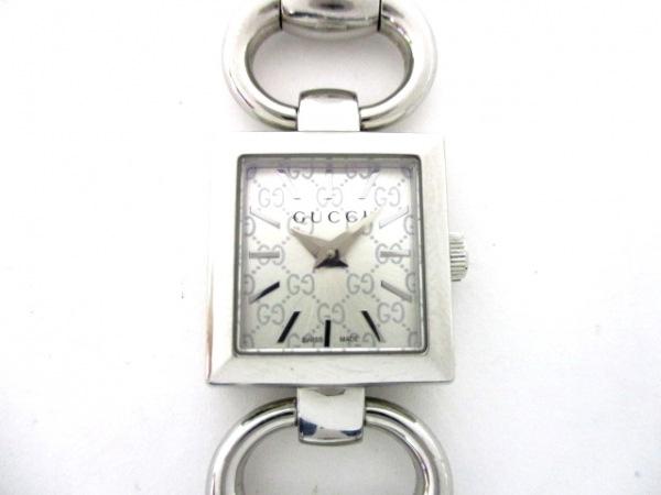 GUCCI(グッチ) 腕時計 トルナブォーニスクエア 120 レディース シルバー