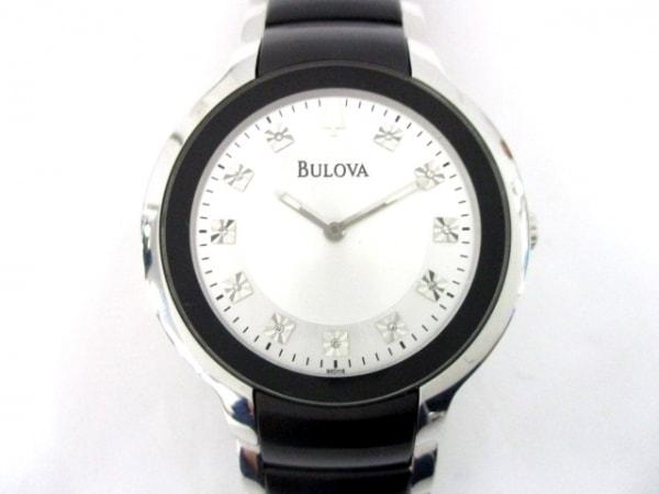 Bulova(ブローバ) 腕時計美品  C960892 メンズ シルバー