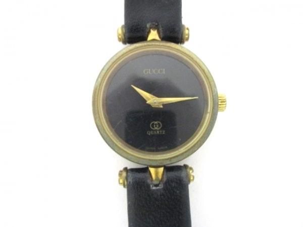 GUCCI(グッチ) 腕時計 ダブルG - レディース 黒