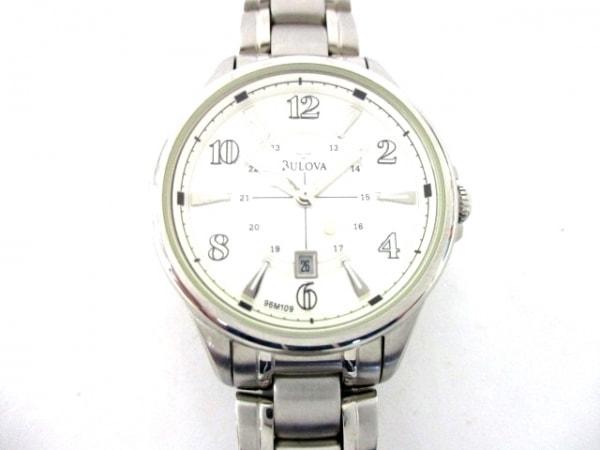 Bulova(ブローバ) 腕時計 C860859 レディース シェル×白