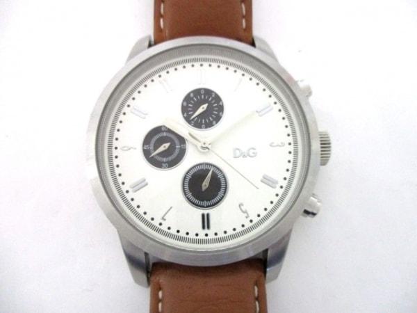 D&G(ディーアンドジー) 腕時計 - メンズ 白