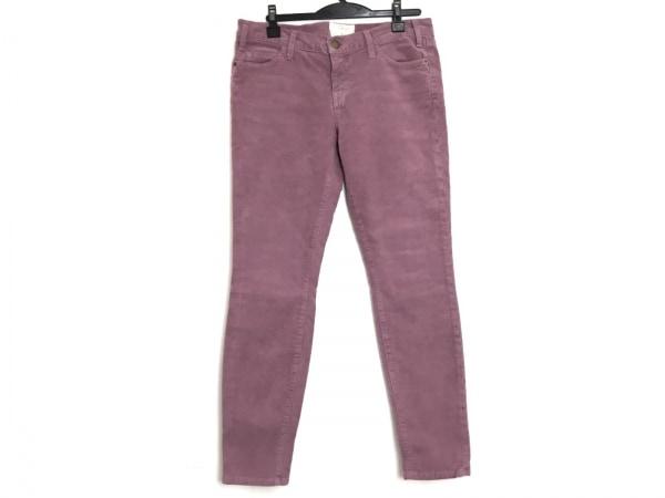 CURRENT ELLIOTT(カレントエリオット) パンツ サイズ28 L レディース美品  ピンク