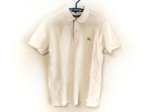 Burberry LONDON(バーバリーロンドン) 半袖ポロシャツ サイズM メンズ 白