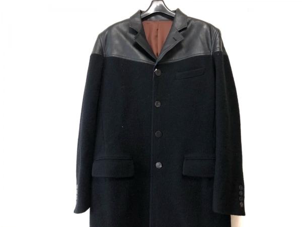 JeanPaulGAULTIER(ゴルチエ) コート サイズ48 XL メンズ 黒 冬物/CLASSIQUE