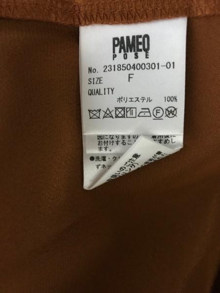 PAMEO POSE(パメオポーズ) チュニック レディース美品  ブラウン