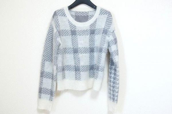グレースコンチネンタル 長袖セーター サイズ36 S レディース新品同様  チェック柄