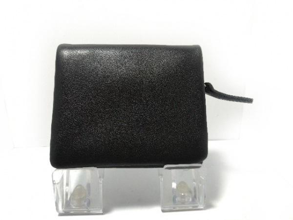 tsumori chisato CARRY(ツモリチサトキャリー) 2つ折り財布美品  黒 レザー