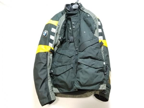 ビーエムダブリュ ブルゾン サイズ50 メンズ美品  黒×グレー×マルチ ラリースーツ