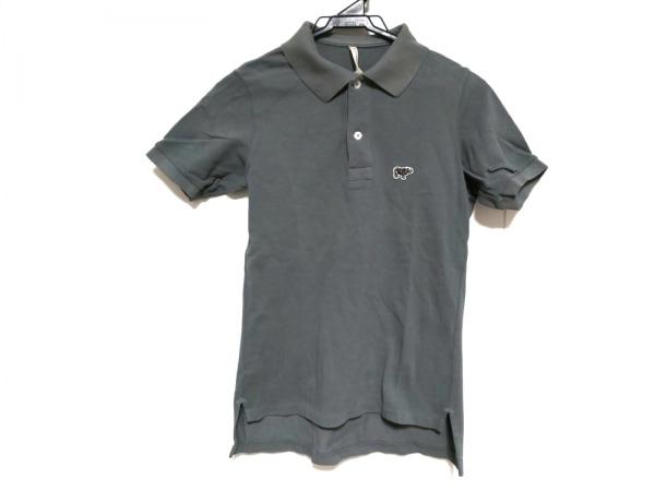 SCYE(サイ) 半袖ポロシャツ サイズ40 M メンズ グレー