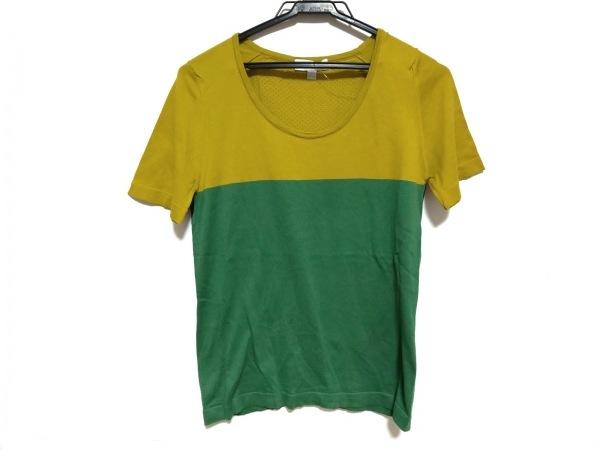 ジョンスメドレー 半袖Tシャツ サイズS レディース美品  ライトグリーン×グリーン