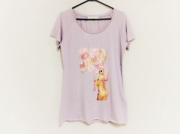 Rady(レディ) 半袖Tシャツ サイズF レディース ピンク×マルチ