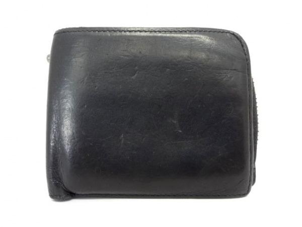SOLATINA(ソラチナ) 2つ折り財布 黒 レザー