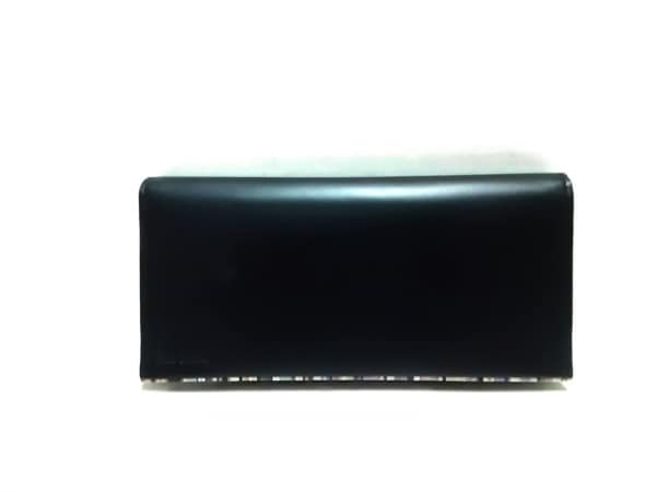 PaulSmith(ポールスミス) 長財布 黒×マルチ レザー