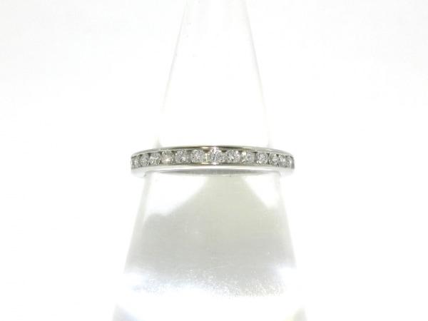 ティファニー リング 11美品  ダイヤモンド ウェディング バンドリング フルダイヤ