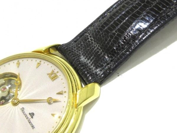 MauriceLacroix(モーリスラクロア) 腕時計 1064 メンズ 裏スケ ベージュ