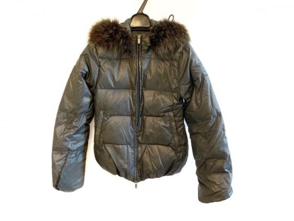 デュベティカ ダウンジャケット サイズ36 S レディース Adhara グレー 冬物/ファー