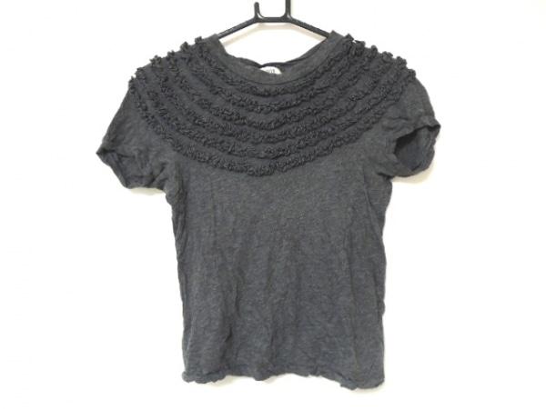 SCYE(サイ) 半袖Tシャツ サイズ36 S レディース グレー フリル