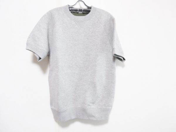 Sacai(サカイ) トレーナー メンズ グレー 半袖