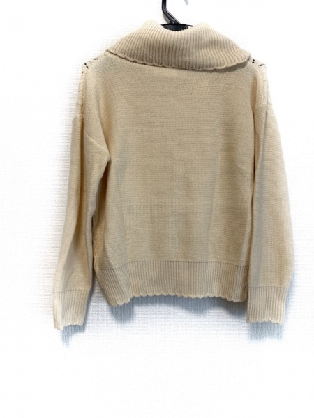 Secret Honey(シークレットハニー) 長袖セーター レディース美品  ベージュ
