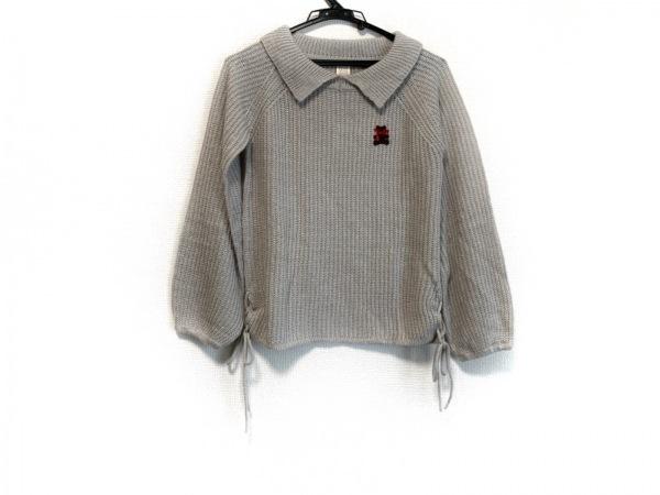 Secret Honey(シークレットハニー) 長袖セーター レディース美品  ライトグレー